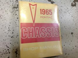 1965 Pontiac Modelle & Tempest Chassis Service Shop Reparatur Manuell Br... - $24.62