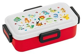 New! Pokemon Dome Shaped Lid Lunch Box 530ml Bento Made in Japan F/S - $40.19