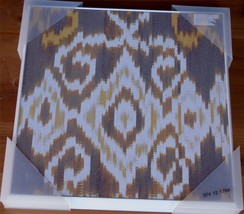 "Target Wall Art - 12"" x 12"" - NEW - 074-12-1764 - Brown Deco Pattern Pla... - $19.79"