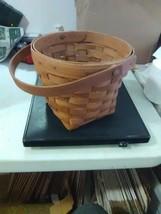 Longaberger Measuring Basket - Swing Handle - Bottom Stain - 1989 - $7.31