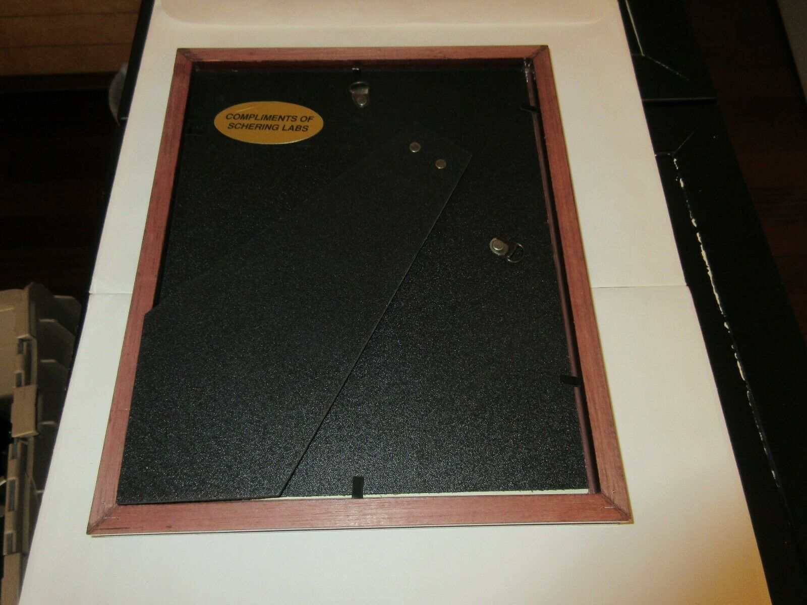 "Once Again PHarmacists Top Gallup Pole , Plaque , 9"" x 11"" , Rx , Pharmacy ,1992 image 3"