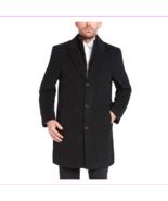 Kirkland Signature Men's Wool Cashmere Blend Overcoat 48R/Black - $89.99