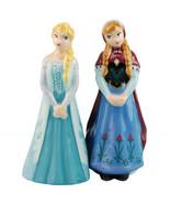 Walt Disney Frozen Movie Grown Up Elsa and Anna Ceramic Salt and Pepper ... - $27.08