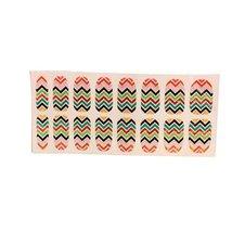 [Set of 2]Easily Apply 12 PCS Artificial Nail Polish Sticker,Colour Ripple image 2