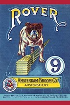 Rover 9 Broom Label - Art Print - $19.99+