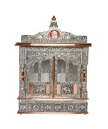 "Home Hindu Puja Mandir Temple Alter Pooja Mandap Shrine 25"" Inches with ... - $399.99"