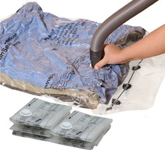 Simple Houseware 5 Pack - Extra Large Vacuum Storage Bags to Space Saver... - $25.30