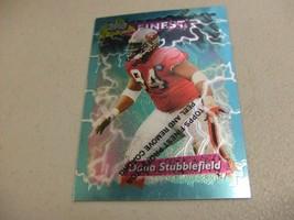 1995 Topps Finest Boosters w/peel #B183 Dana Stubblefield -San Francisco... - $3.12