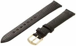 Hadley-Roma Men's MSM700RA-190 19-mm Black Genuine Lizard Leather W... SHIPSFREE - $17.04