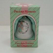 "Precious Moments ~ Porcelain Holiday Bell Ornament ""Bundles Of Joy"" 1994 New - $9.88"
