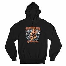 Shovelhead Garage Sweatshirt Biker Pin-up Girl Route 66 Racing Hoodie - $29.27+