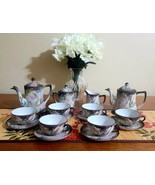 Vintage Imperial Nippon Hand Painted 19Piece Moriage Dragon Tea Set & Co... - £251.97 GBP