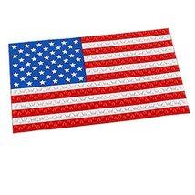 PANDA SUPERSTORE National Flag Non-Slip Mat Car Dashboard Pad Adhesive Mat for C
