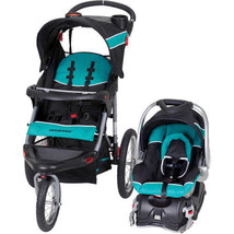 Baby Trend Travel System Expedition Jogger Stroller Tropic Infant Car Seat - $204.89