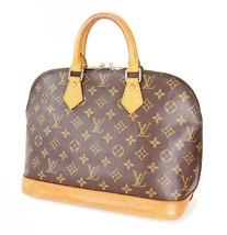 Authentic LOUIS VUITTON Alma Monogram Hand Bag Purse #34182 - $429.00