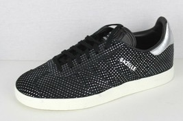 Adidas Original Gazellen Damen Athletic Sneakers Veloursleder Schwarz Si... - $38.92