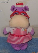 "DISNEY Store DOC MCSTUFFINS 8"" Nurse HALLIE Hippo Soft Doll Plush Toy Used - $14.03"