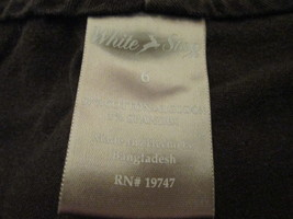 Ladies brown casual shorts Size 6 by White Stag  MJM182 - $12.49
