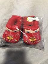 Disney Pixar Cars Lighting McQueen Slippers Size 5-6 New Child - $29.70