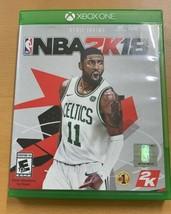 NBA 2K18 (Microsoft Xbox One, 2017) - $9.40