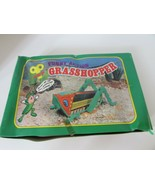 """12 WINDUP NOVELTY TOYS CRAWLING GRASSHOPPERS 4"""" LONG COUNTERTOP DISPLAYS - $26.41"""