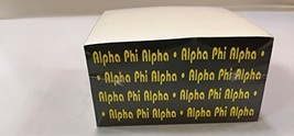 Alpha Phi Alpha Fraternity Memo Note Cube - $11.87