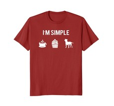Simple Jack Russell Shirt Love My Coffee My Cupcake My Dog - $17.99+