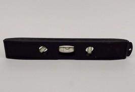 9 inch Black Plastic Level ETVB - $2.24