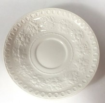 Wedgwood Of Etruria Wellesley saucer, one replacement creamware dish, co... - $10.89