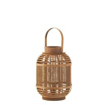 Lantern Candles, Small Bamboo Garden Decorative Table Indoor Candle Lantern - $37.49