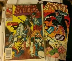 The Secret Defenders #3 & #5 Marvel Comics 2 Lot Wolverine Doctor Strang... - $4.94