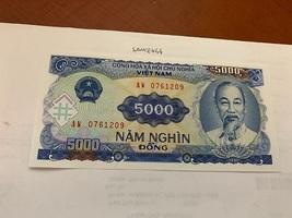Vietnam 5000 dong uncirc. banknote 1991 - $4.95