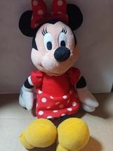 "Disney MINNIE MOUSE 10"" Beanbag Plush - $5.00"