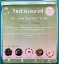 QUEEN Mattress Protector /Pad Deluxe Soft Smooth Waterproof Hypoallergen... - $64.95