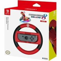 Hori Wii U Switch Marion Kart 8 Deluxe Wheel (Mario Version) for Joy-Con - $22.53
