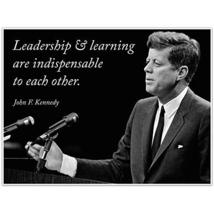 John F. Kennedy Quotes Canvas Decor - $34.65