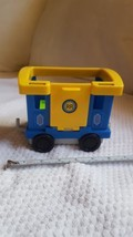 Fisher Price Little People 2012 RR Train Engine Caboose pre-owned toy BDD47 - $14.89