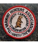 The Varmint Hunters Association Inc. Vintage Collectors Patch Obsolete D... - $24.75