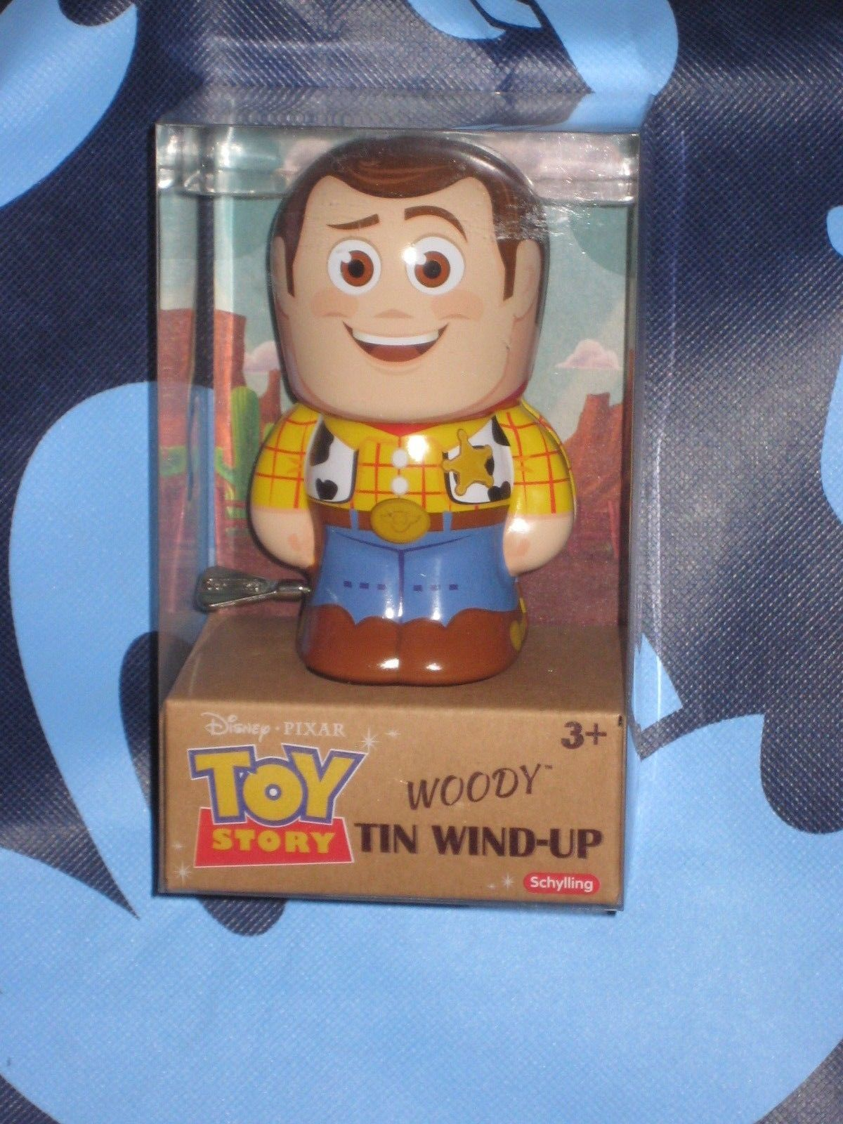 Woody Disney Pixar Toy Story Tin Wind Up. Brand New. 4 inches tall.
