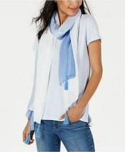 INC International Concepts I.N.C. Ombré Tissue-Weight Wrap Shawl, Blue W... - $17.82