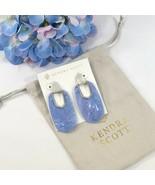 Kendra Scott Kailyn Rhodium Lilac Illusion Drop Dangle Earrings NWT - $73.76