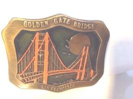 40 Yr Anniversary  1937-1977 belt buckle Golden Gate Bridge San Francisc... - $25.91