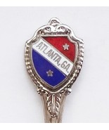 Collector Souvenir Spoon USA Georgia Atlanta Cloisonne Emblem - $4.99