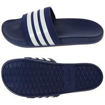 Adidas Adilette Comfort Plus Stripes Slides Sandals Slipper Navy B42114 - $40.99+