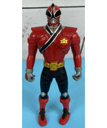 Bandai Power Rangers 2010 Flip Head Ninja Samurai Action Figure Red Rang... - $19.85