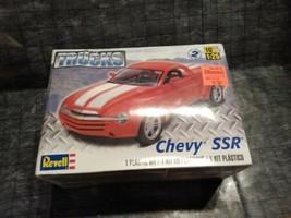 Older Revell 1:25 Chevy SSR Plastic Model #4052 Skill 2 sealed - $24.74