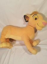 Disney's The Lion King Simba Plush Toy Stuffed Animal Over 2ft Long 2ft ... - $21.28
