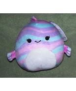 "Squishmallows MARTINA the Pastel Fish 5""H NWT - $10.88"