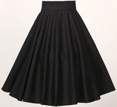 women retro vintage rockabilly 50's party club clothes full circle skirt... - $25.99
