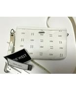 Nine West women's belt wallet purse ivory size M/L - $17.71